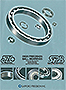 EZO Bearings Catalog Product Dimension Contents
